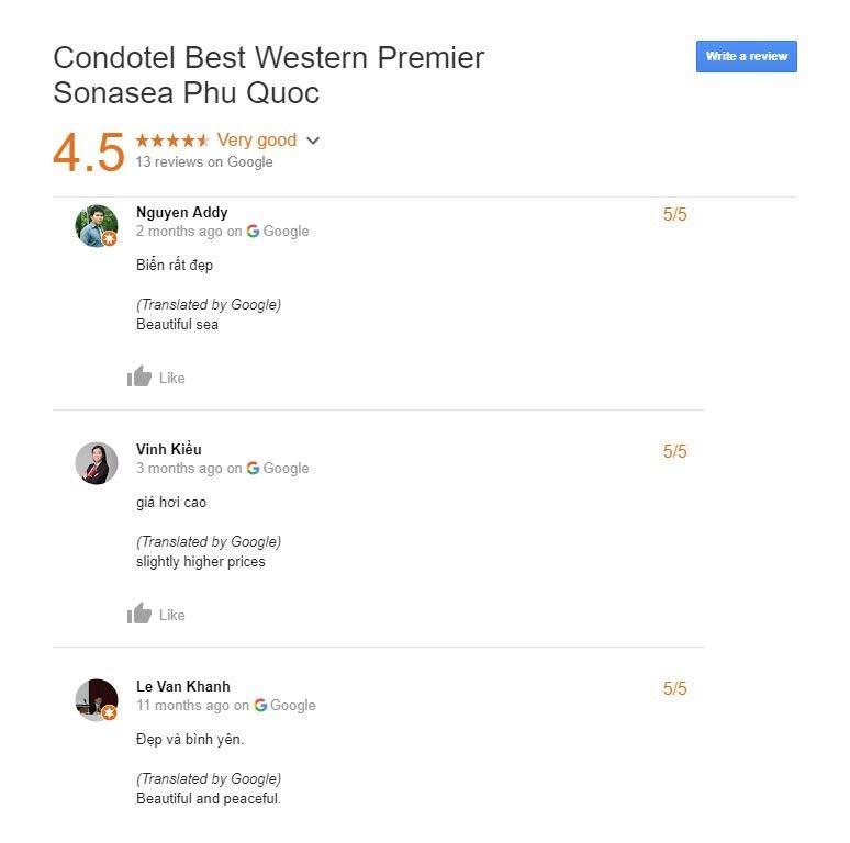 Best Western Premier Sonasea Phu Quoc review