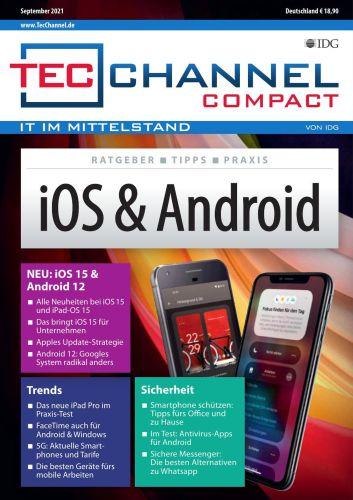 Cover: Tecchannel Compact Magazin No 09 2021