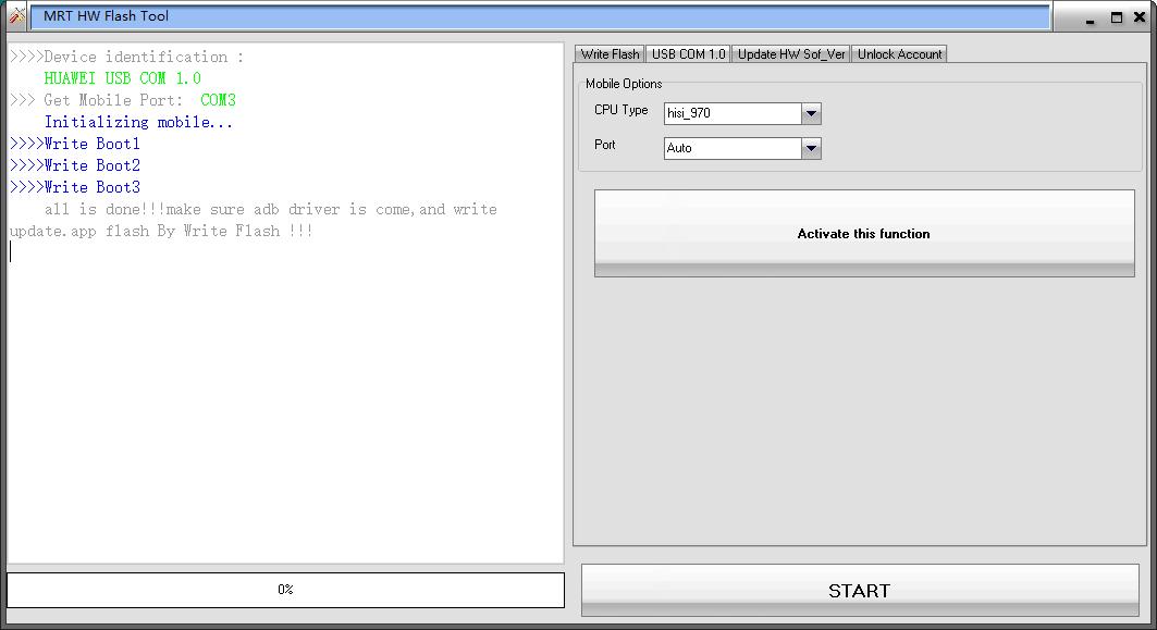 Mrt update-Huawei flasher frp USB com 1 0 Tool New update - Gsm6g