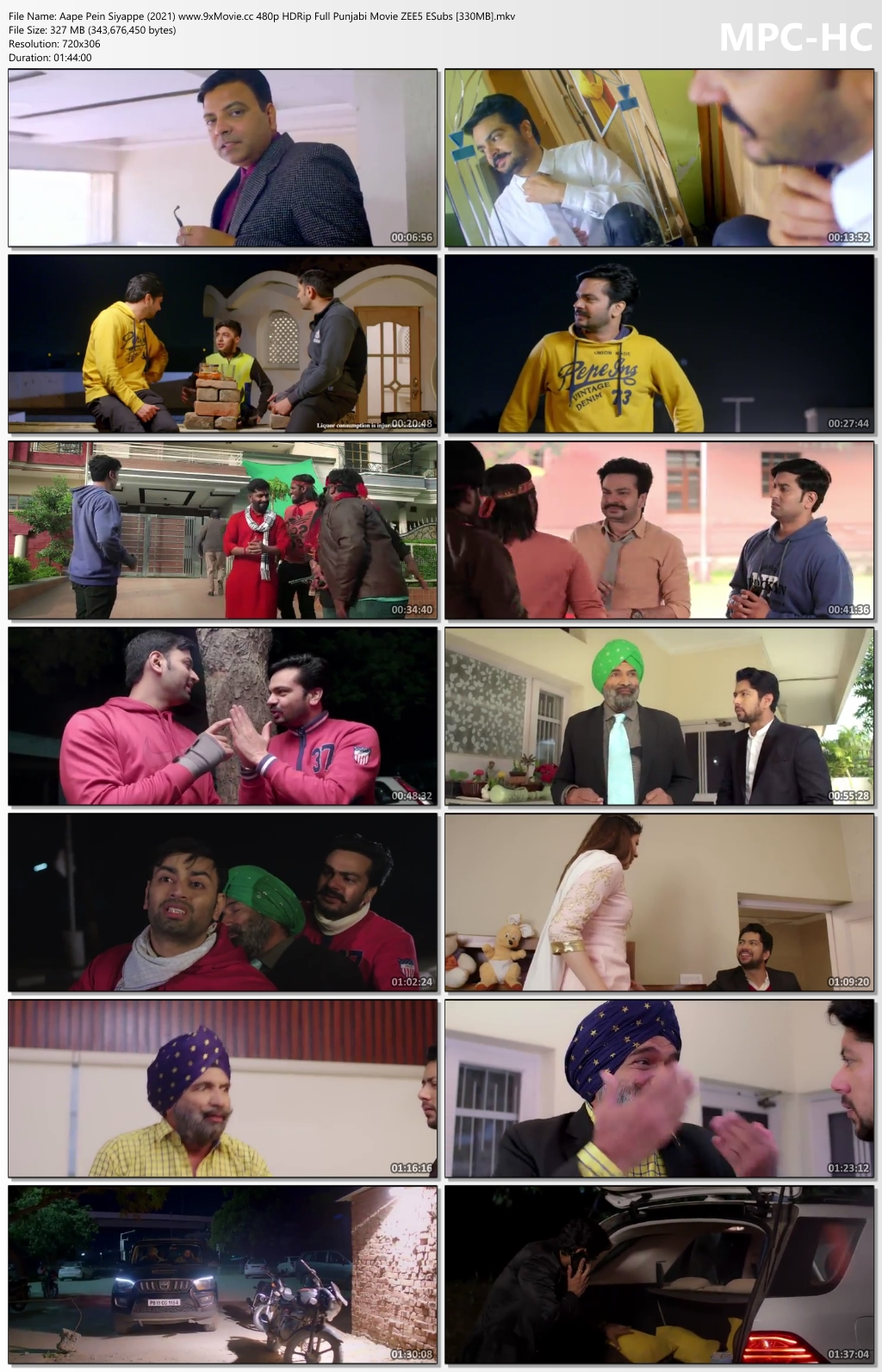 Aape-Pein-Siyappe-2021-www-9x-Movie-cc-480p-HDRip-Full-Punjabi-Movie-ZEE5-ESubs-330-MB-mkv