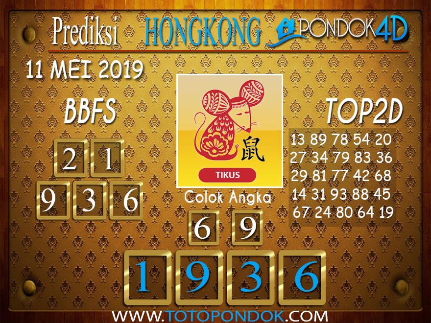 Prediksi Togel HONGKONG PONDOK4D 11 MEI 2019