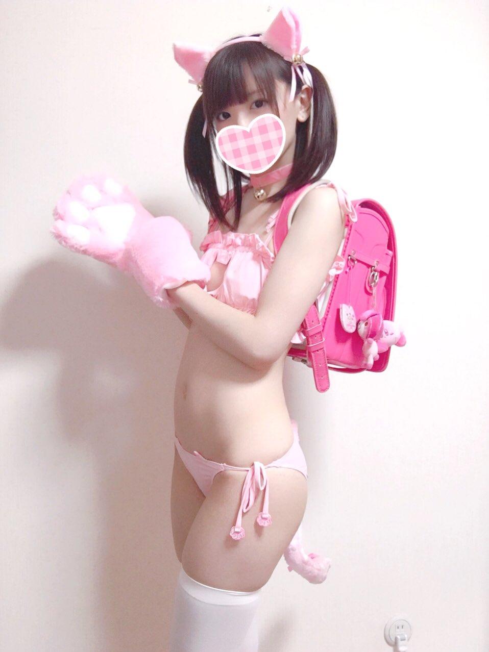 猫式性感-美少女猫内衣套图