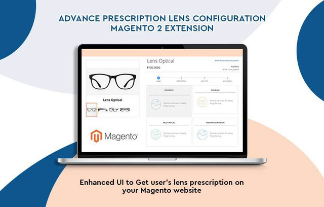 magento eyeglasses prescription plugin