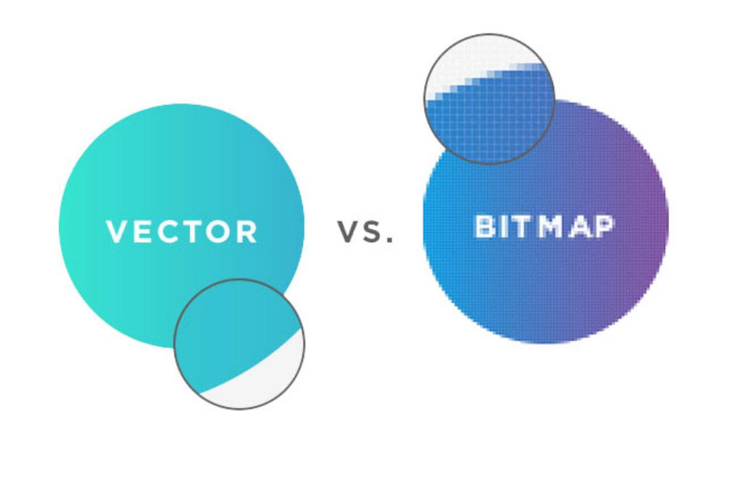 gambar bitmap dan vector ilustrasi