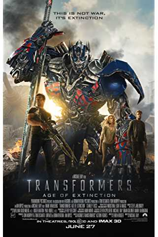 Transformers: Age of Extinction 2014 Download English 720p