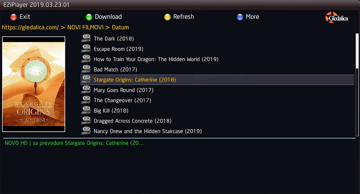IPTVPlayer/E2iPlayer (opis i podešavanja)