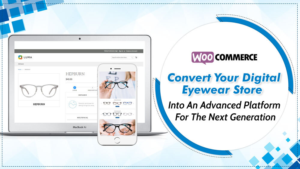 Convert your digital eyewear store