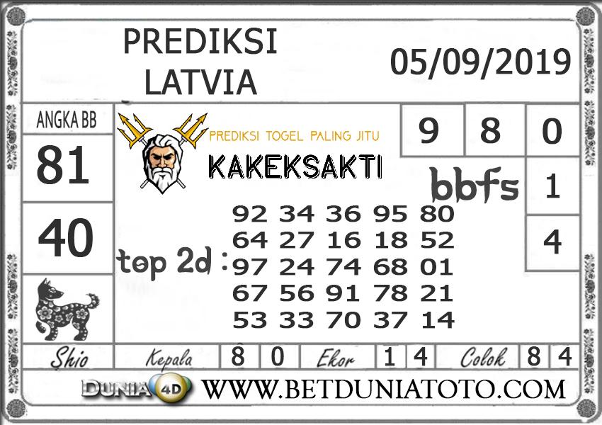 """Prediksi Togel """"LATVIA"""" DUNIA4D 05 SEPTEMBER 2019"""