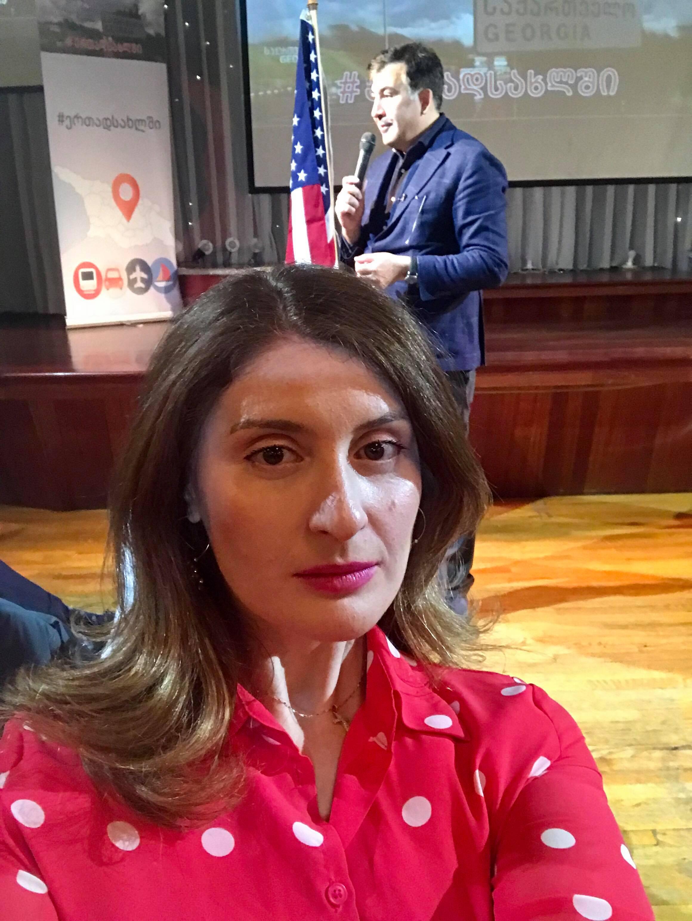 მიხეილ სააკაშვილის შეხვედრა ამერიკაში მცხოვრებ ქართველ ემიგრანტებთან
