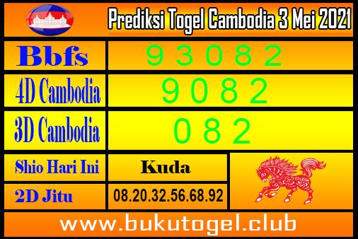 Prediksi Kamboja 2 Mei 2021
