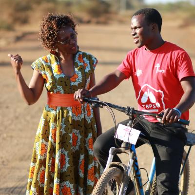 image of DGHT TB Champion Albertina Zodwa Nyatsi, Community Activist