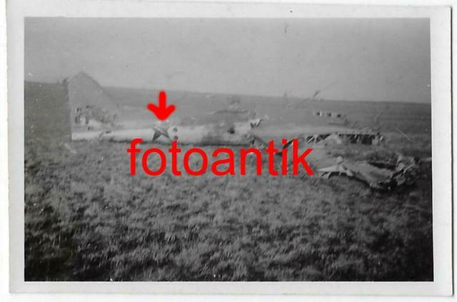 Foto-2-WK-Ostfront-Flugzeug-russischer-J-ger
