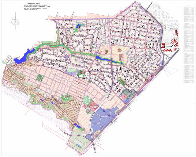 Детальний план территории Гатного