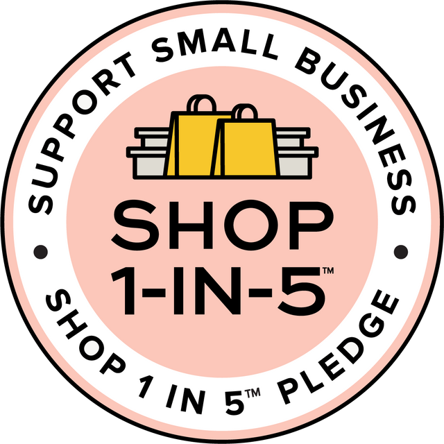 Featured on The Shop 1 in 5 Pledge Directory