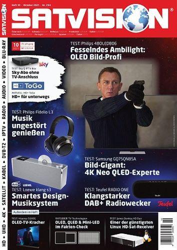 Cover: Satvision Magazin Oktober No 10 2021