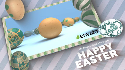 Happy Easter Logo 31447104 - Project for After Effects (Videohive)