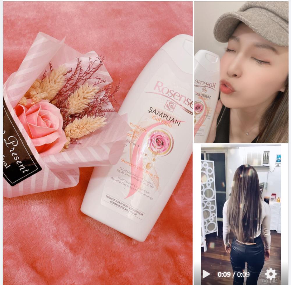 【JPG】KOL Ice, Rosense Shampoo with Rose Oil, hair conditioner, Argan Oil, 002