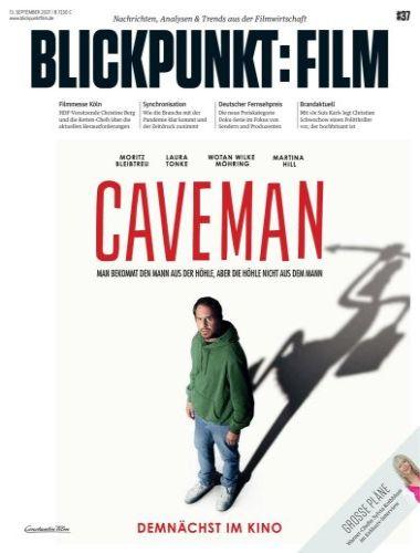 Cover: Blickpunkt Film Magazin No 37 vom 13  September 2021