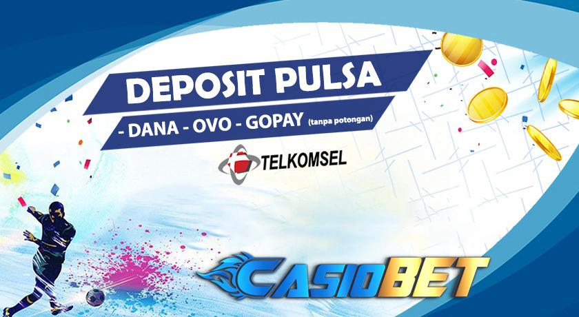 Deposit pulsa,OVO,GOPAY Dan DANA