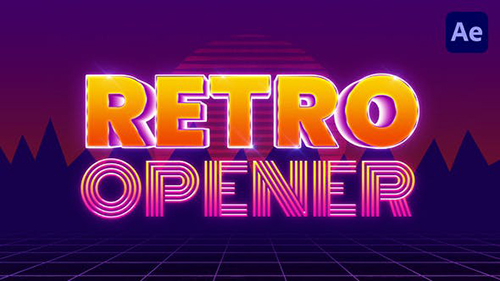 Retro Opener 33412498 - Project for After Effects (Videohive)
