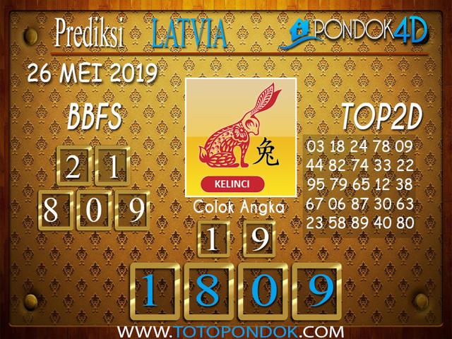 Prediksi Togel LATVIA PONDOK4D 26 MEI 2019