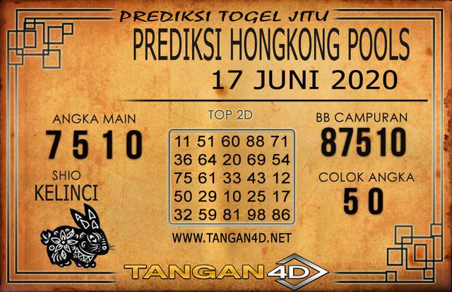 PREDIKSI TOGEL HONGKONG TANGAN4D 17 JUNI 2020