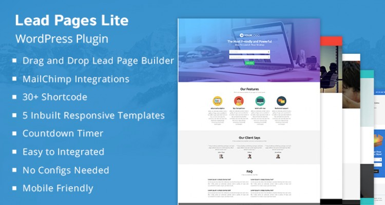 Lead Capture Lite - WordPress Plugin