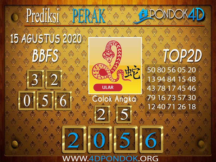 Prediksi Togel PERAK PONDOK4D 15 AGUSTUS 2020