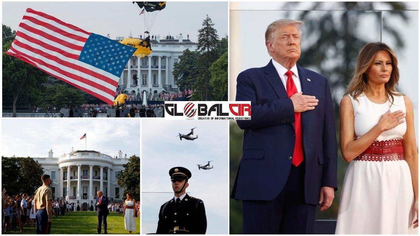 PREDSJEDNIK TRAMP U ZANOSNOM GOVORU POVODOM DANA NEZAVISNOSTI: Američka Republika stoji danas kao najveća, najizuzetnija i najdarovitija nacija u historiji svijeta
