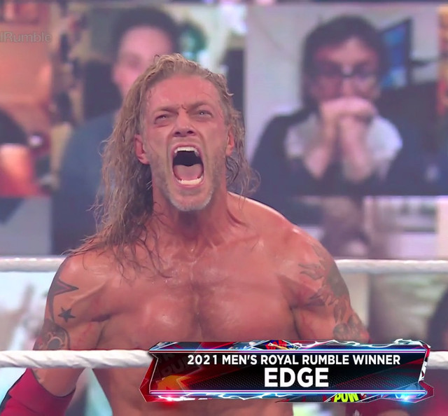 Edge ganador Royal Rumble Masculino 2021