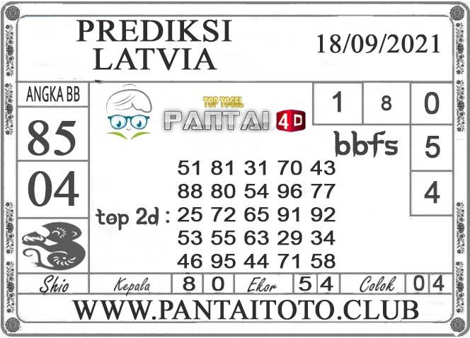 PREDIKSI TOGEL LATVIA PANTAI4D 18 SEPTEMBER 2021