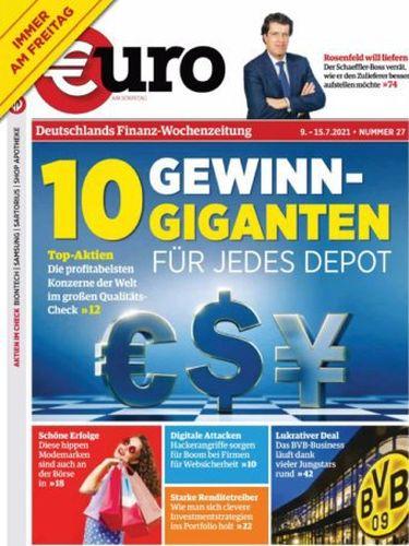 Cover: Euro am Sonntag Finanzmagazin No 27 vom 09  Juli 2021