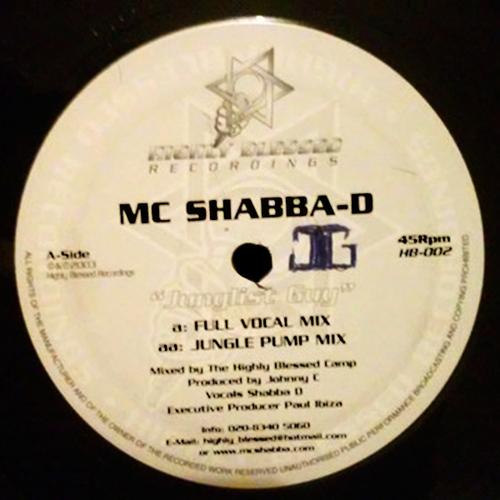 MC Shabba D - Junglist Guy 2003