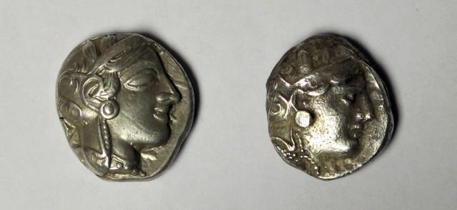 (otro) Tetradracma de Atenas, este sobre 287-262 a.C. Ot15