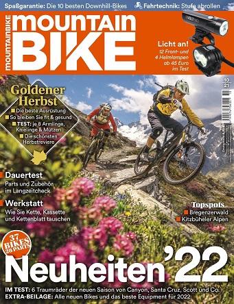 Cover: Mountainbike Magazin Oktober No 10 2021
