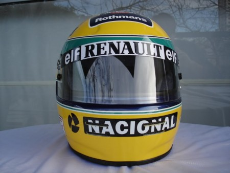 1994 ayrton senna f1 grand prix race helmet poster dvd 3