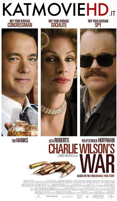 Charlie Wilson's War (2007) BluRay 480p 720p Dual Audio  [In Hindi 5.1 DD + English]