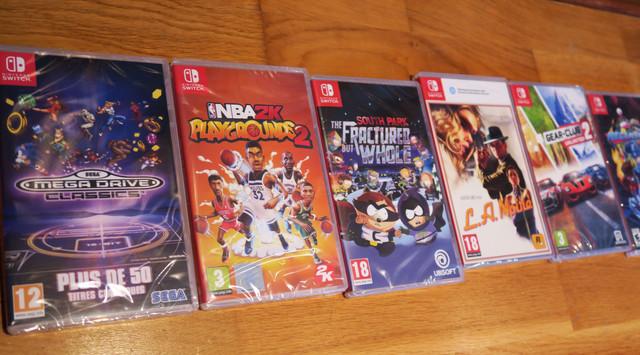 [VDS] Lots 9 Jeux N64, 20 jeux NES, 6 Jeux SWITCH, et 21 Jeux Super Nintendo Jeux1