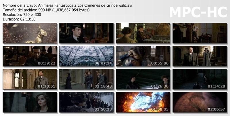 Animales Fantásticos 2: Los Crímenes de Grindelwald Capturas