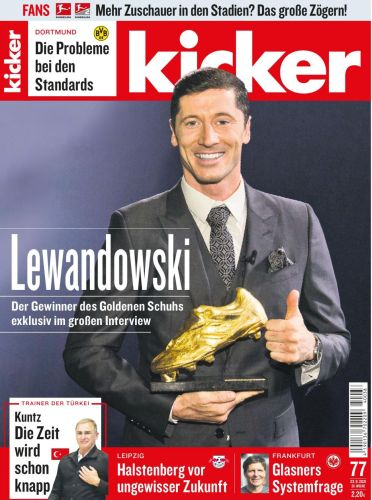 Cover: Kicker Sportmagazin No 77 vom 23  September 2021