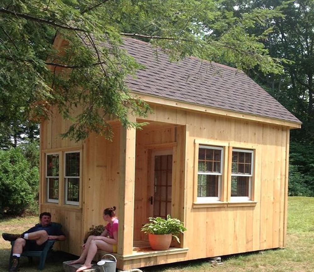 Desain Rumah Kecil dengan Tema Natural