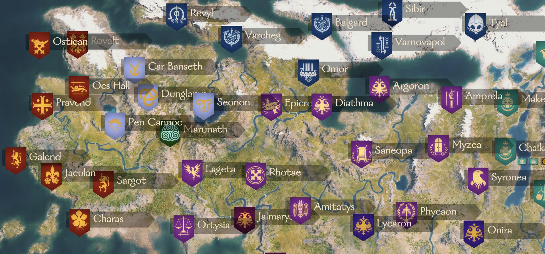 Shattered Kingdoms / Расколотые Королевства