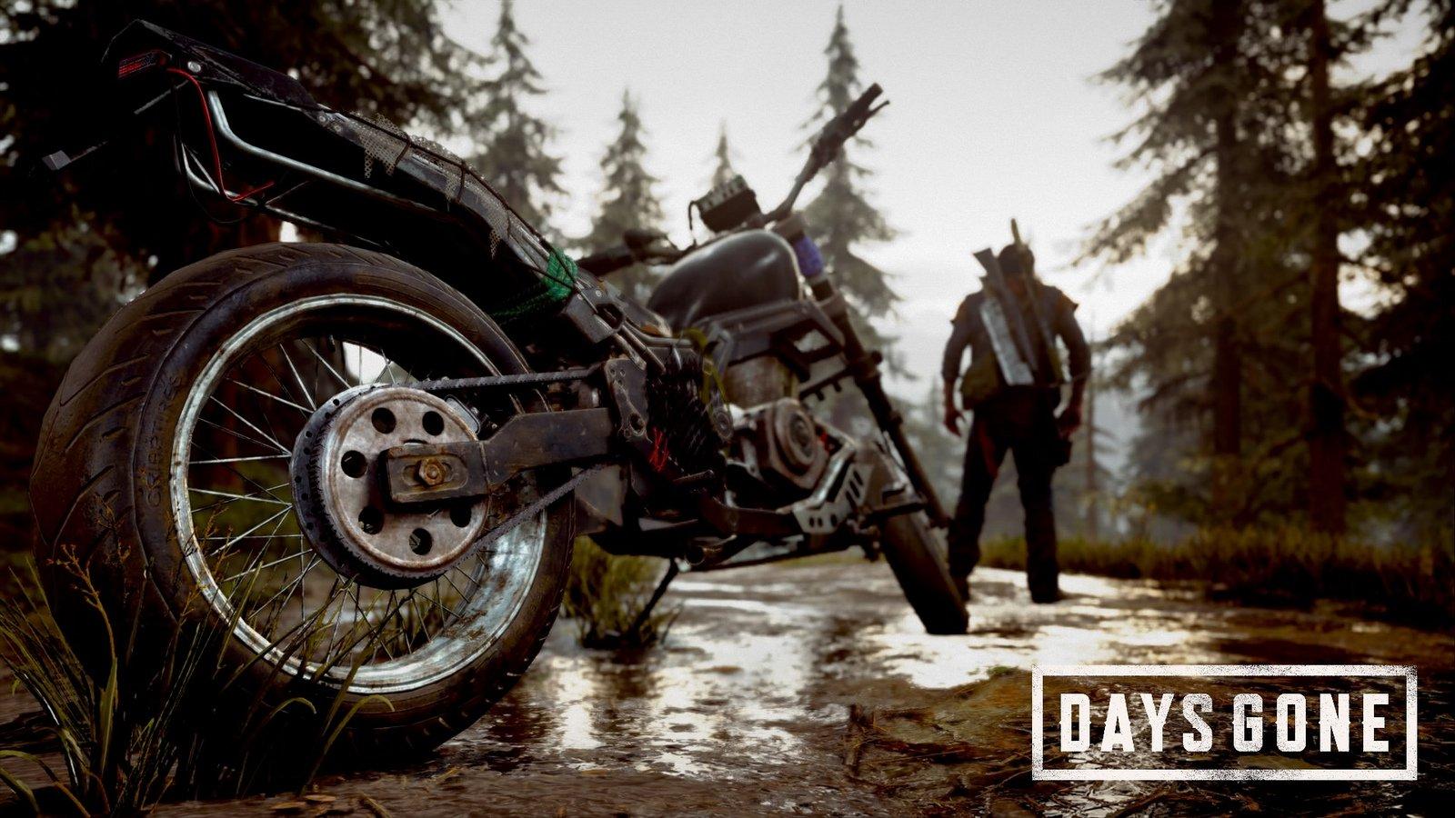 Как отремонтировать мотоцикл в Days Gone?