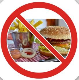 Ban junk food to lose weight