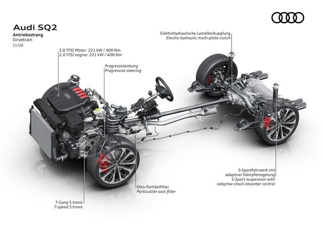 Voiture de sport compacte d'exception : Audi donne à l'Audi SQ2 un design encore plus abouti A208398-medium