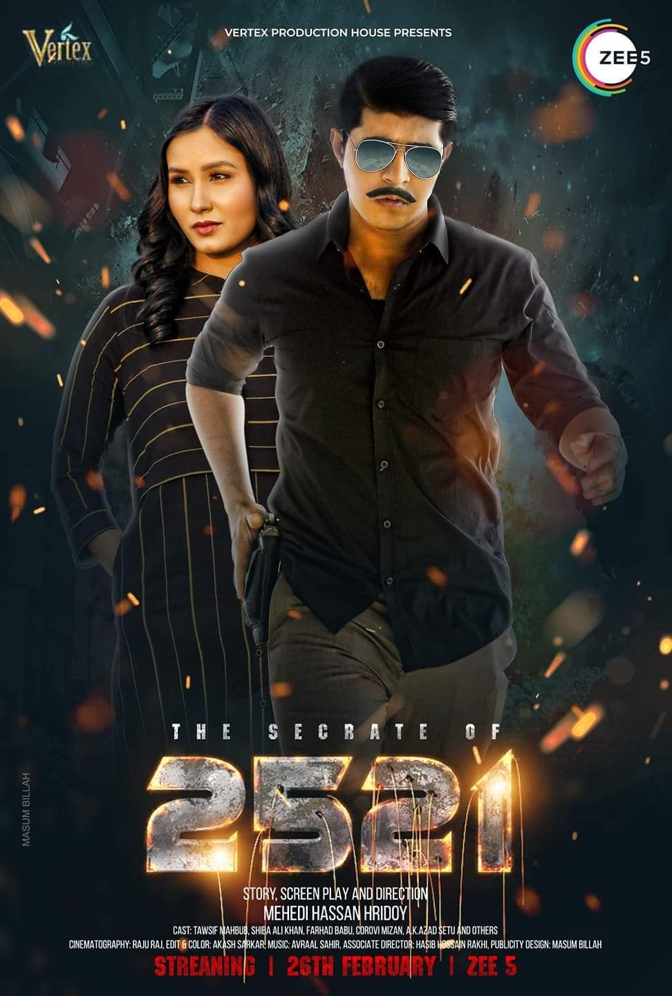 2521 (2021) Bengali 720p HDRip x264 AAC 300MB Download