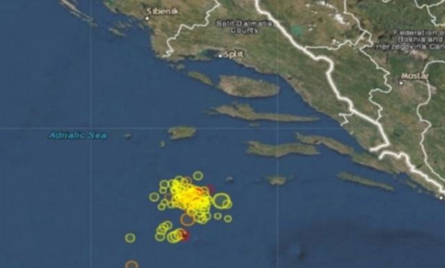 NEMIRNO MORE! Dva potresa u Jadranu u roku od deset minuta