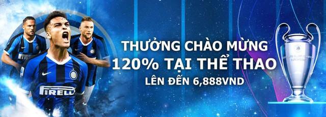 LETOU TẶNG 120% THƯỞNG CHÀO MỪNG TẠI THỂ THAO LÊN ĐẾN 6,888VND Letou-th-ng