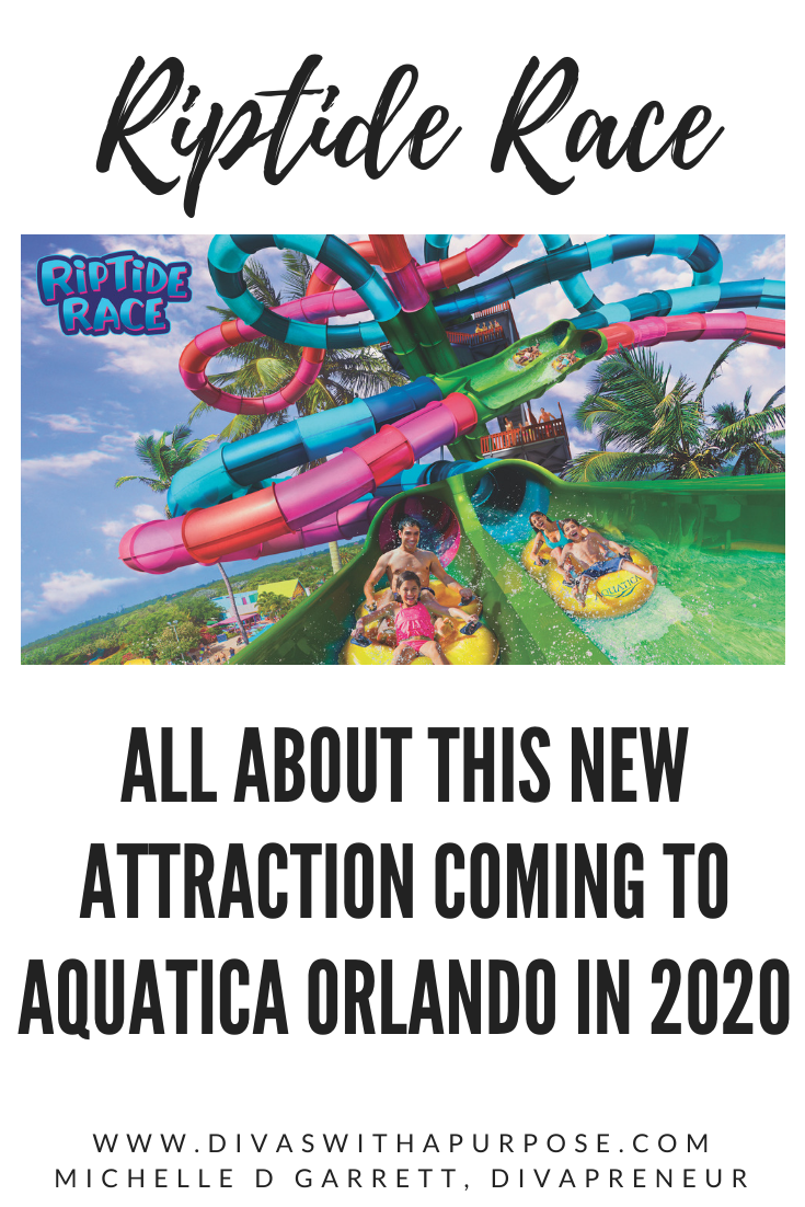 All about Riptide Race - a new attraction coming to Aquatic Orlando in 2020 #travel