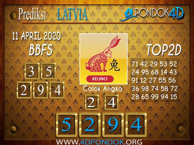 Prediksi Togel LATVIA POOLS PONDOK4D 11 APRIL 2020